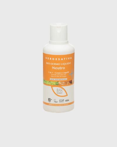 Bio dermo liquido Neutro, corpo e shampoo 2in1 500 Ml