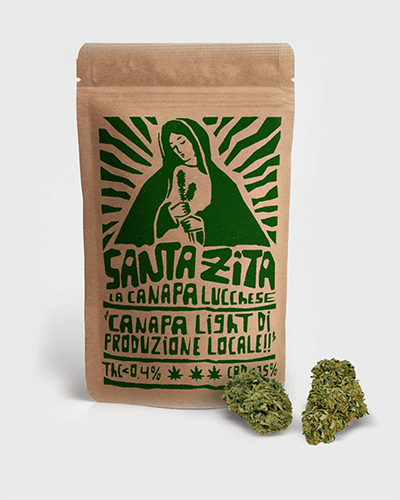 Santa Zita - infiorescenze canapa CDB THC