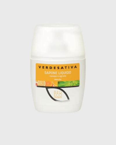 Sapone Liquido con agrumi 100% naturale e bio degradabile