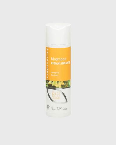 Shampoo Riequilibrante 100% naturale e bio degradabile