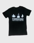 T-shirt logo Cannazero - S