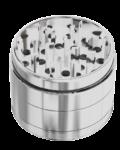 Grinder 55mm 4 parti alluminio